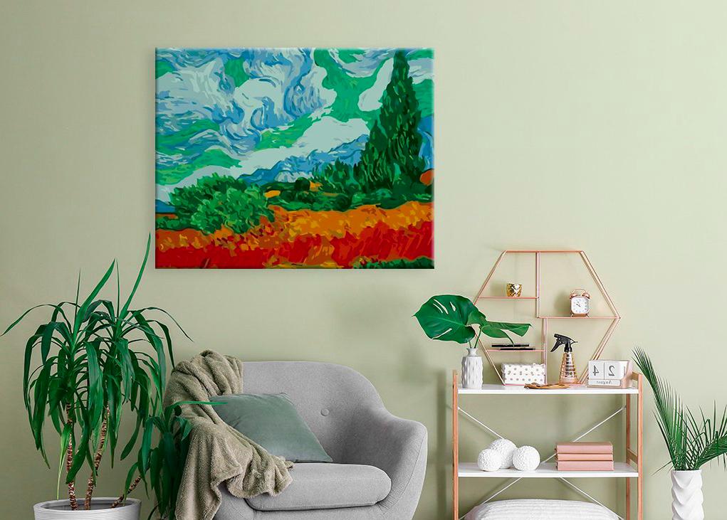 Maľovanie podľa čísiel vám umožní maľovať ako veľkým maliarom. Skúste si namaľovať napríklad Van Ghoga.